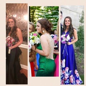 Selling all 3 prom/formal dresses!